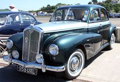 Classic Cars British, Old Classic Cars, Vintage Cars, Vintage Style, Antique Cars, Triumph Motorbikes, Motorcycles, Morris Minor, Goth Style