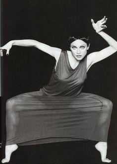 Dance is passion  Madonna Harpers Bazaar May 1994 Martha Graham