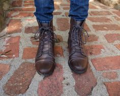 vintage Timberland lace up boots | Timberland
