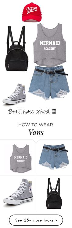 """""""Untitled #122"""" by anonymous-ugly on Polyvore featuring Converse, STELLA McCARTNEY and Vans"""