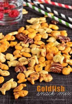 Spicy Ranch Goldfish Snack Mix at TidyMom.net