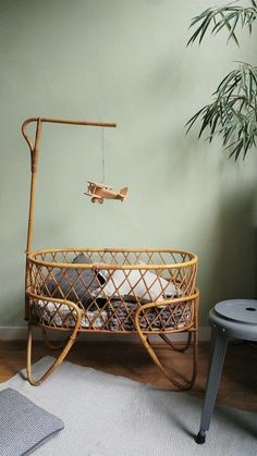 I sell rattan cribs and baby dressers, mostly Feel free to conta. Kids Bedroom Dream, Baby Bedroom, Baby Room Decor, Boho Nursery, Nursery Room, Nursery Decor, Parents Room, Kids Room, Baby Must Haves