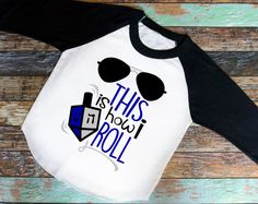 This Is How I Roll Shirt - Adorable youth shirt. Raglan Shirt , baseball tee, saying shirt, this is how I roll