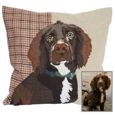 Schnauzer, Dog Lover Gifts, Dog Lovers, Fox Red Labrador, Working Cocker, Handmade Cushion Covers, Pet Dogs, Pets, Dog Cushions