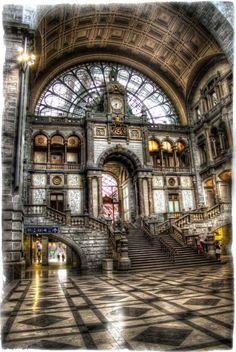 Belgium Train Station  #architecture