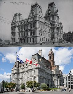 Montreal Ville, Canada, Yesterday And Today, Abandoned, Cities, Buildings, Empire, The Past, Louvre