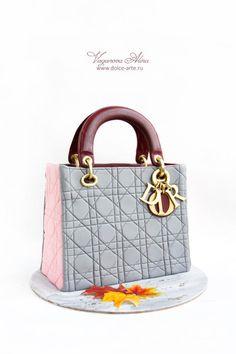 Lady Dior cake by Alina Vaganova
