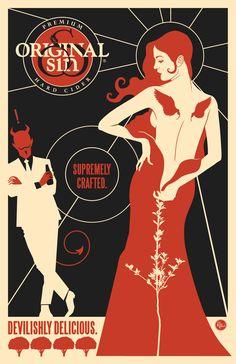 Original Sin - Heirloom Series - Newtown Pippin Hard Cider