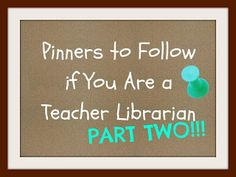 Ms. O Reads Books: Pinners to Follow Part 2