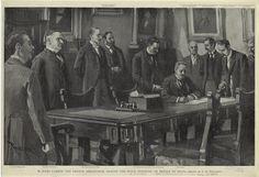 Firma del Tratado de Paz ESPAÑA-EEUU