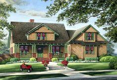 House Plan 86220 | Bungalow   Craftsman    Plan with 2012 Sq. Ft., 3 Bedrooms, 2 Bathrooms, 2 Car Garage