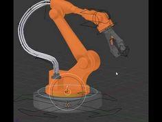 (6) Robot Assembly Arm Blender 3D Rig - YouTube