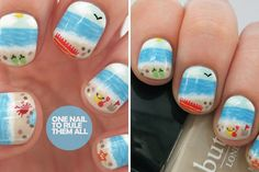 Beauty and the Beach | 20 Summery Nail Art Tutorials