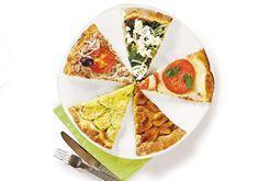 15 recheios magrinhos para a sua pizza