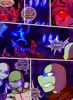 Teenage Mutant Mages Turtles Page 40 by GolzyBlazey.deviantart.com on @DeviantArt