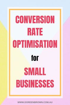 You have only a few seconds to either gain a potential customer for your business or lose them. Which is why conversion rate optimisation (CRO) is so important for your small business.Want to know the benefits? Here are 5 most useful ones you should consider.