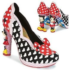 Irregular Choice MINNIE MOUSE Court Shoes