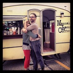 #Coffee truck, where have you been all my life. I think this is my calling -★-