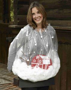 Snow Globe Sweater = contest winner! #tackychristmassweater