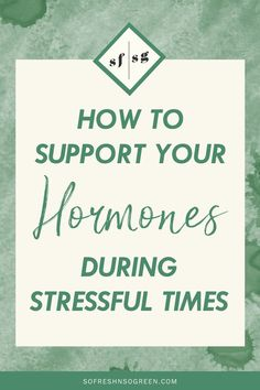 A hormone balance diet is a big step to keeping your hormones and monthly cycle on track. Check out more tips to support your hormones during stressful times! Nature Words, Hormone Balancing, Menstrual Cycle, Healthy Lifestyle Tips, Nutrition Tips, Stress, Track, Whole30 Recipes, Diet