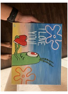 Cute Easy Paintings, Small Canvas Paintings, Easy Canvas Art, Small Canvas Art, Easy Canvas Painting, Mini Canvas Art, Diy Canvas, Drawings For Boyfriend, Hippie Painting