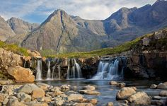 Faerie pools, Glen Brittle, Skye.