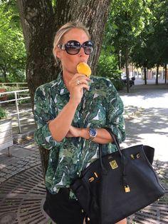 Susanne Histrups modeblogg - Part 20 Hermes Birkin, Fashion Outfits, Chic, My Style, Inspiration, Bags, Shabby Chic, Biblical Inspiration, Handbags