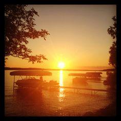Torch Lake sunset :)