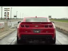 Hennessey Twin-Turbo Camaro ZL1 Drag Test (video)