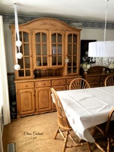 Custom Oak Dining Room Set Beautifully Crafted By Mennonites
