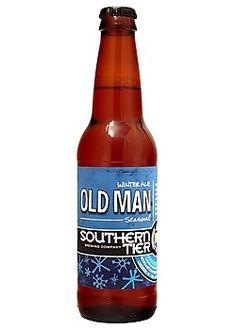 Cerveja Southern Tier Old Man Winter, estilo Old Ale, produzida por Southerntier Brewing, Estados Unidos. 7% ABV de álcool.