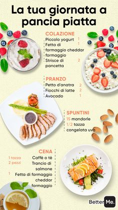 Basta tirare a indovinare... Il quiz gratuito ti aiuta o ottenere il piano giusto! Good Healthy Recipes, Healthy Meal Prep, Healthy Drinks, Healthy Eating, Food Porn, Flat Belly Diet, Food Goals, Meal Planning, Food And Drink