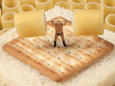 Levantamento de Rigatone #levantamentodepeso #rigatone #creamcracker # paodeforma