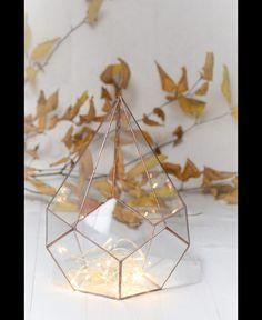 Terrarium Łza - GlassWoodMe - Dekoracje ślubne