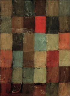Paul Klee - Harmonie blau=orange
