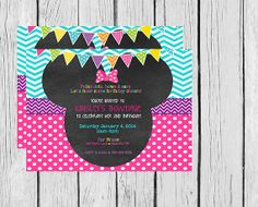 Minnie Mouse Bowtique Invitations that I am using for Kynzie's party!!