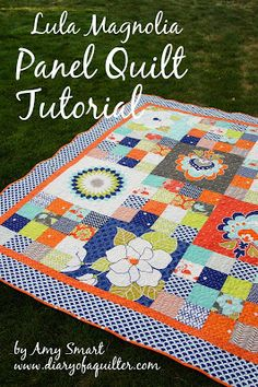 Panel Quilt Tutorial for Riley Blake