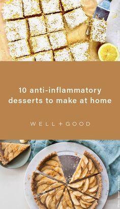dessert recipes Desserts To Make, Homemade Desserts, Healthy Dessert Recipes, Baking Recipes, Healthy Snacks, Snack Recipes, Healthy Eating, Blueberry Cheesecake Bars, Coconut Chia Pudding