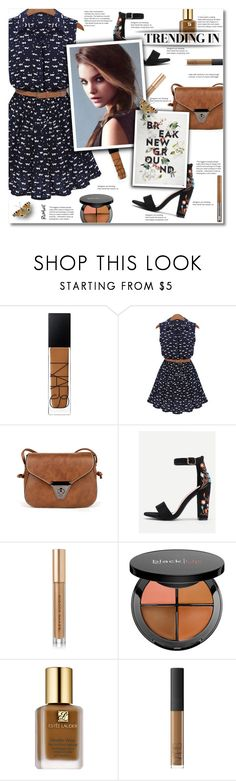 """""""Spring with romwe"""" by smajlovicelvira ❤ liked on Polyvore featuring NARS Cosmetics, Kevyn Aucoin, Sephora Collection, Estée Lauder and Urban Decay"""