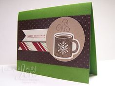 Holiday Card using Scentsational Season Stamp set from Stampin' Up!