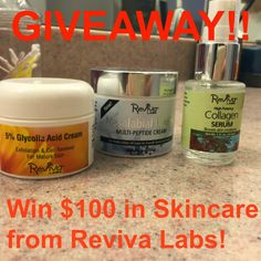 #WIN $100 in #Antiaging skincare! #skin #beauty #MyStyleSpot: Finally, an Effective Solution for Those Nasty #FineLines and Even Those Deep #Wrinkles: #RevivaLabs #Skincare #Review + #GIVEAWAY #sunspots #acne #blemish #dry #oily #normal #skin #collagenserum #glycolicacid #cream #serum #nasolabialfold