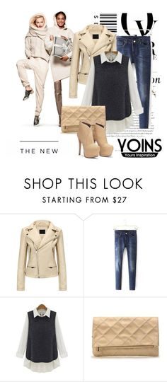 """""""YOINS"""" by b-mila ❤ liked on Polyvore featuring H&M, Envi and American Eagle Outfitters"""