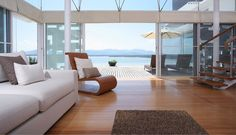 Sapham Bay Villa living room