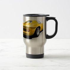 #Classic sports car travel mug - #drinkware #cool #special