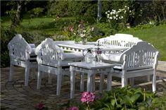 Nydelige hagemøbler <3