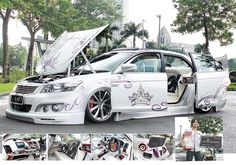 Modified Honda Accord Extreme Elegant Style - Anyone who saw this 2004 Honda Accord alerts surely will be amazed, elegant good looks and extreme indicates that modifications made sufficient totality and neat. Gany Chan is the owner of the Honda Accord strong the white modification, this modification is a modification of the sixth... - http://www.technologyka.com/indonesia