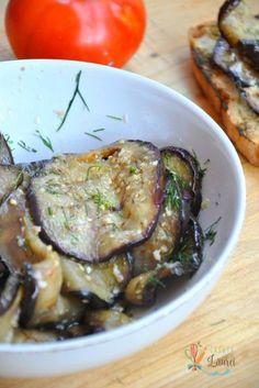 Salata de vinete coapte cu usturoi via @casutalaurei