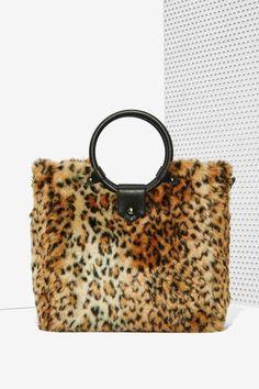 Nasty Gal x Nila Anthony Wild Side #Faux #Fur #Bag.