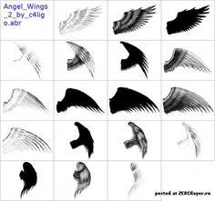 Картинки по запросу как нарисовать крылья демона поэтапно