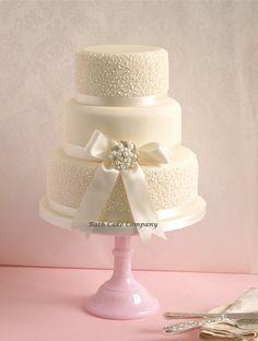 lace wedding cakes | Lace and Broach Wedding Cake | | Bath Cake Company